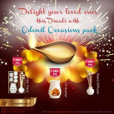 DIWALI OFFER: Rs. 100 OFF on Aroma Combo Packs Order at www.daburaroma.com/combo-pack.html   Use coupon code: COMBO100