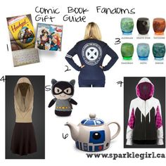 Sparklegirl: Comic Book Fandoms Gift Guide
