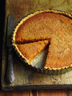 """Classic treacle tart ( the """"treacle"""" is golden syrup. Corn syrup is not a substitute Tart Recipes, Sweet Recipes, Dessert Recipes, Cooking Recipes, Cake Recipes Uk, Cuban Recipes, Recipes Dinner, Banoffee Pie, Sweet Pie"""