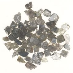 3.02 Ct Natural Rough Gray Mix Color Drilling Beads Fancy Loose Diamonds Lot | eBay