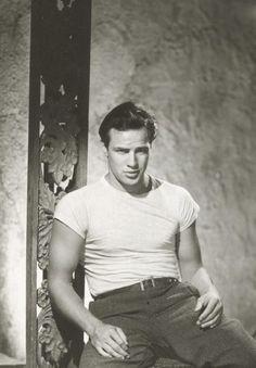 Marlon Brando, 1950.