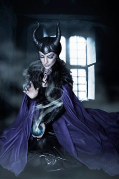 Maleficent Horns Large hand crafted Made to by HysteriaMachine, £150.00