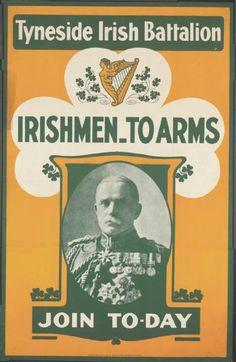 Irishmen to Arms . Irish Celtic, Irish Men, Propaganda Art, Communist Propaganda, Ww1 Posters, Irish Republican Army, Ww1 Soldiers, Irish Eyes Are Smiling, North East England