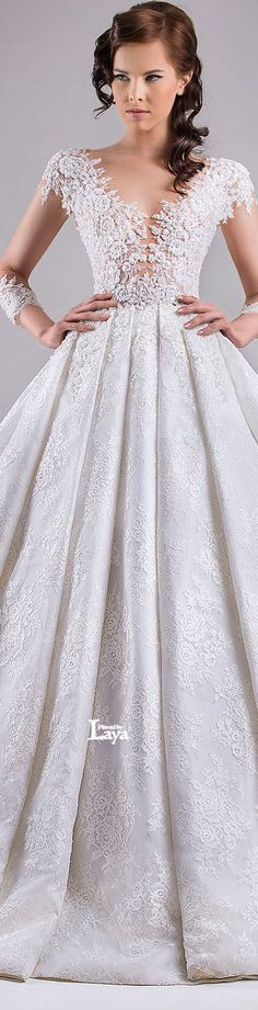 ♔LAYA♔CHRYSTELLE ATALLAH S/S 2015 BRIDAL♔ #Provestra #Skinception #coupon code nicesup123 gets 25% off