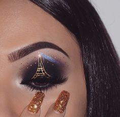 Makeup by Nasia Belli Instagram: @nasiabelli  #makeup Creative Eye Makeup, Eye Makeup Art, Skin Makeup, Eyeshadow Makeup, Crazy Makeup, Cute Makeup, Glam Makeup, Beauty Makeup, Beautiful Eye Makeup