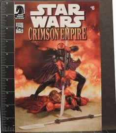 Star Wars Crimson Empire comic book #6 Comic Book Pack Variant Reprint grade 9.8