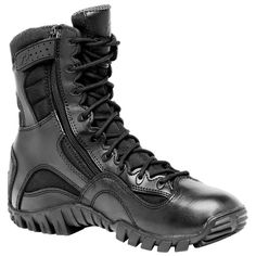 Tactical Research Khyber Side Zip Boot, Black (S89 901) Tactical Wear, Tactical Clothing, Mens Shoes Boots, Men's Shoes, Ugg Boots, Airsoft, Camouflage, Side Zip Boots, Tenis Casual