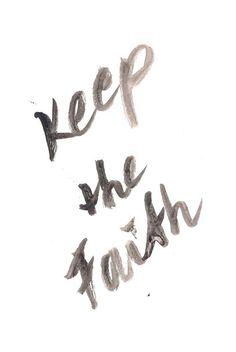 Keep the faith inspirational quote word art print motivational poster black white motivationmonday minimalist shabby chic fashion inspo typographic wall decor