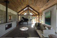 Passive House Design, Alpine Lodge, Central Otago, Architect House, Modular Homes, Sustainable Architecture, Beautiful Space, New Homes, Outdoor Decor