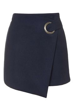 Eyelet Wrap Mini Skirt - Topshop