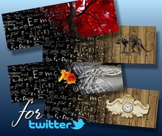 This is a Digital image creat by me.    You buy 4 Twitter banner Images PNG file high resolution 300dpi     This design can be used as a blog banner for