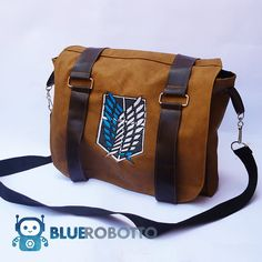 Attack on Titan messenger bag - Cosplay/anime what