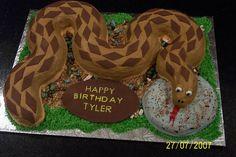 Snake Cake -
