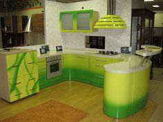 Modern Green Kitchen Design  Cocinas Kitchen  Pinterest Stunning Modern Kitchen Design Trends 2012 Inspiration Design