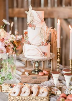 A Floral-Filled, Autumn Inspired Styled Shoot | Weddingbells Pretty Wedding Cakes, Unique Wedding Cakes, Fall Flowers, Cut Flowers, Shades Of Burgundy, Bridal Hair And Makeup, Autumn Inspiration, Bridal Accessories, Bridal Gowns