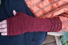 Rolling Thunder Gloves…The beaded cuff is too pretty to hide!