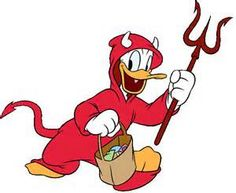 Donald Duck Devil