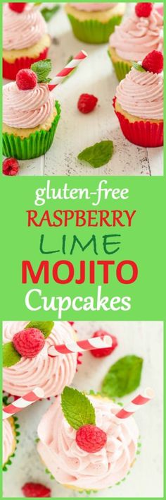 I can't wait for you to bite into this dreamy, tender, Gluten-Free Raspberry Lime Mojito Cupcake. The subtle flavors of rum, mint, lime, and raspberries will have you dreaming of vacation.