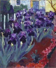 EMIL NOLDE Blue Iris (1915)