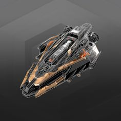 Frigate 3D model - TurboSquid 1380644 Spaceship Art, Spaceship Design, Spaceship Concept, Concept Ships, Concept Art, Nave Star Wars, Sci Fi Anime, Space Story, Space Fighter