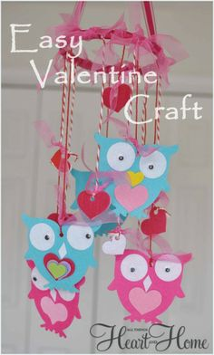 Super easy Valentine Craft for you and your kids!