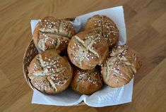 Chlebovky z žitné mouky (pro alergiky - bez pšenice, vajec, mléka)