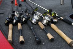 I have guys ask me all the time how many rods and reels do I have. The short answer is too many. There is probably an