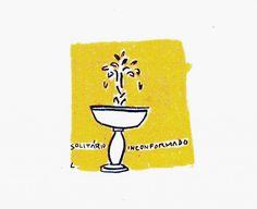 Sob o Peso dos Meus  Amores.  Serigrafia: José Leonilson.