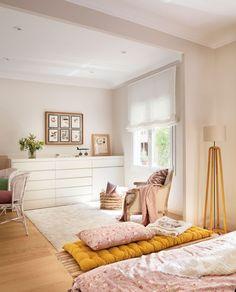 #Inspiración Dormitorios | La comodidad a tus pies Un pie de cama aporta el confort y estilo que necesita la #decoración de tu #dormitorio