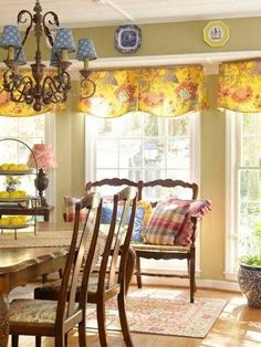 French Country Decorating Ideas That Are Gorgeous If You Need - French country valances