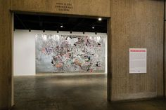 mrk bradford bread and circuses | Mark Bradford, Bread and Circuses , 2007 (installation view, Neither ...