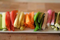 #greens #carrots #babycorn #vegetables #sugarsnaps
