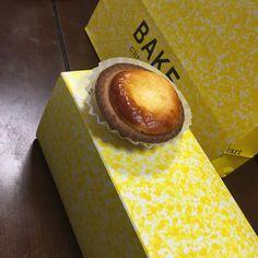 最初は、お土産で頂いたのがきっかけで虜になったチーズケーキ「BAKE」