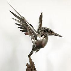 Striking Silverware Animal Assemblages by Matt Wilson | Colossal