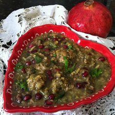 La mia cucina persiana: Ashe Anar - Zuppa di Melograno