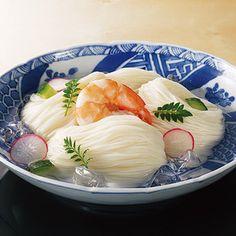 [ご当地グルメ:奈良]<池利>自慢の細物三輪そうめん。【三輪素麺「三輪の極み」】