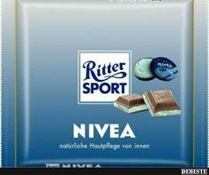 Ritter Sport Nivea.