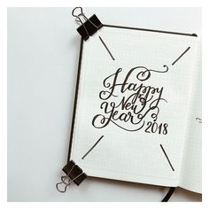 """528 vind-ik-leuks, 6 reacties - Minimalist Bullet Journal (@the.bullet.journey) op Instagram: 'Well that's a wrap Happy New Year everyone! I don't wanna go through all that """"the New Year is…'"""