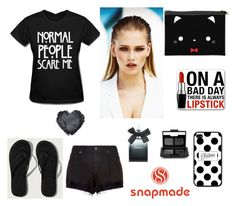 """#2/4 Snapmade"" by munira-salihovic ❤ liked on Polyvore featuring rag & bone, MISCHA, Abercrombie & Fitch, Torrid and NARS Cosmetics"