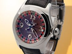 Corum Bubble Casino Roulette Men's Automatic Stainless Steel Watch 082.150.20