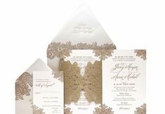 Thoughtful packaging // CeCi New York // The Knot Blog // http://blog.theknot.com/2013/09/29/wedding-invitation-must-haves-ceci-new-york