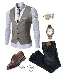 """""""Charming"""" by keri-cruz ❤ liked on Polyvore featuring American Eagle Outfitters, TheLees, Brunello Cucinelli, Prada Sport and River Island Sharp Dressed Man, Well Dressed Men, Moda Outfits, Classic Man, Prada, Casual Looks, Dresscode, Fashion Outfits, Mens Fashion"""