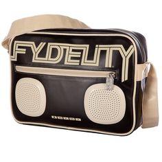 Fydelity Namesake G-FORCE Shoulder Bag - BLACK #Fydelity #Namesake #GForce #ShoulderBag #Black