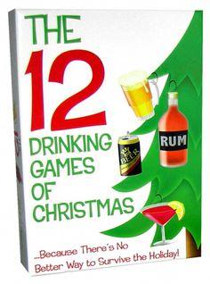 "12 Drinking Games Of Christmas  www.LiquorList.com ""The Marketplace for Adults with Taste!"" @LiquorListcom #LiquorList.com"