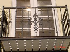 Custom Iron Balconies - All About Balcony Indoor Balcony, Iron Balcony, Balcony Railing, Juliette Balcony, Apartment Balconies, Shade Structure, Balcony Ideas, Balcony Design, Spiral Staircase