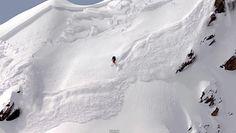 Avalanche Escape – Julien Lopez – Extreme Skier