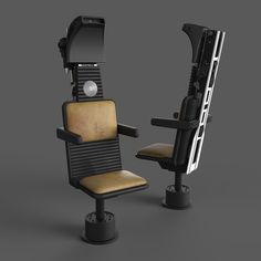 Millennium Falcon: Cockpit Nav Seat - STEP / IGES - 3D CAD model - GrabCAD