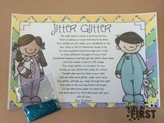 Jitter Glitter...free download from Fun in First