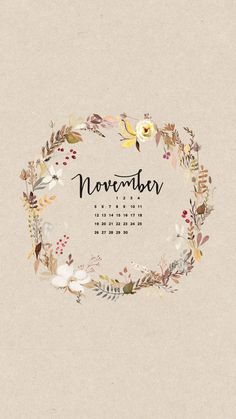 March 2019 Watercolor Calendar Wallpaper Monthly