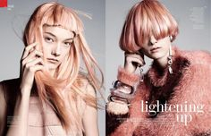 Vogue China Magazine BEAUTY November 2015 Photoshoot